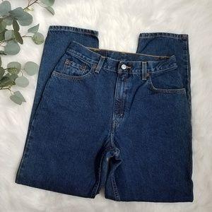 LEVI'S 550 High Waisted Mom Jeans 8 S